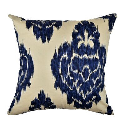 Damask Abstract Throw Pillow Size: 18 H x 18 W x 6 D