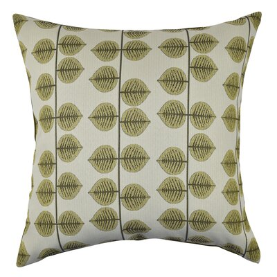Leaf Stripes Throw Pillow Size: 20 H x 20 W x 6 D