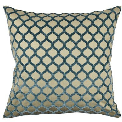 Ogee Lattice Throw Pillow Size: 20 H x 20 W x 6 D