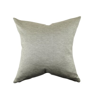 Animal Print Throw Pillow Size: 18 H x 18 W x 6 D, Color: Gray