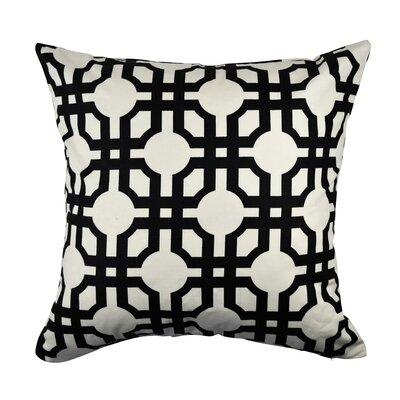 100% Cotton Throw Pillow Size: 18 H x 18 W x 6 D
