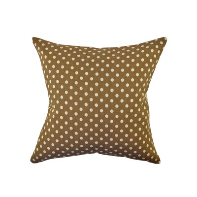 Polka Dot Throw Pillow Size: 18 H x 18 W x 6 D