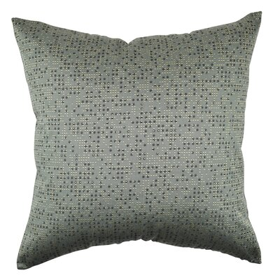 Dots Grid Design Throw Pillow Size: 18 H x 18 W x 6 D
