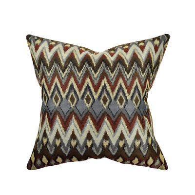 Chevron Throw Pillow Size: 18 H x 18 W x 6 D