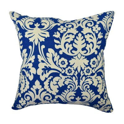 100% Cotton Throw Pillow Size: 20 H x 20 W x 6 D