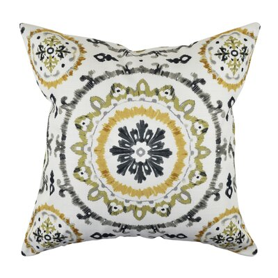 100% Throw Pillow Size: 18 H x 18 W x 6 D