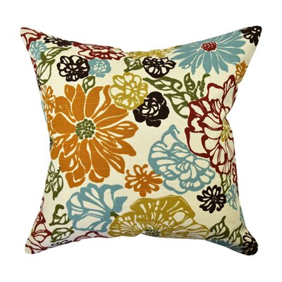 100% Cotton Throw Pillow Size: 20