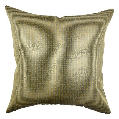 Narrow Stripe Throw Pillow Size: 18 H x 18 W x 6 D