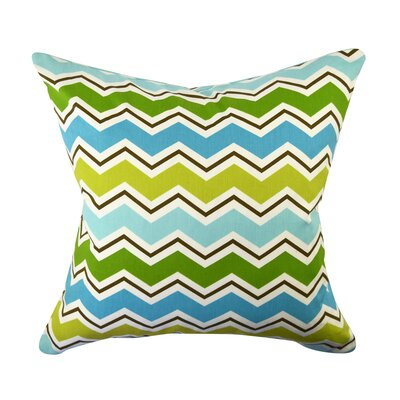 100% Cotton Throw Pillow Size: 18 H x 18 W x 6 D