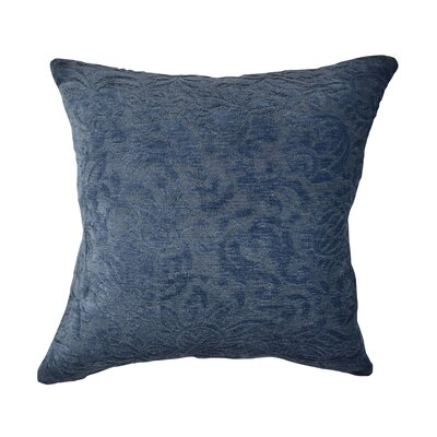 Throw Pillow Size: 20 H x 20 W x 6 D, Color: Blue