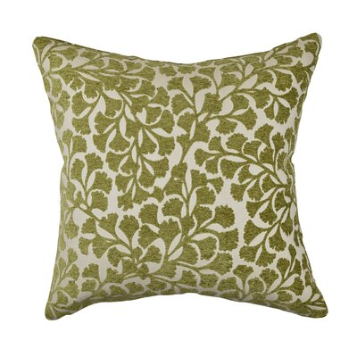 Throw Pillow Size: 20 H x 20 W x 6 D, Color: Green