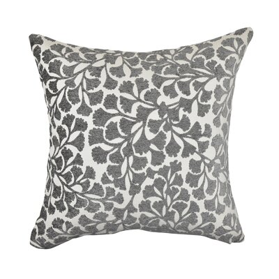 Throw Pillow Size: 20 H x 20 W x 6 D, Color: Gray
