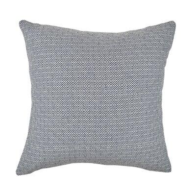 Throw Pillow Size: 18 H x 18 W x 6 D, Color: Black