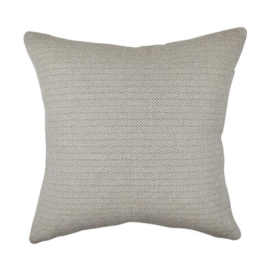 Throw Pillow Size: 20 H x 20 W x 6 D, Color: Tan