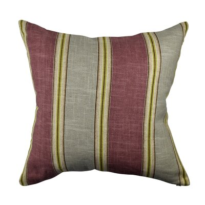 Designer 100% Cotton Throw Pillow Size: 18 H x 18 W, Color: Purple