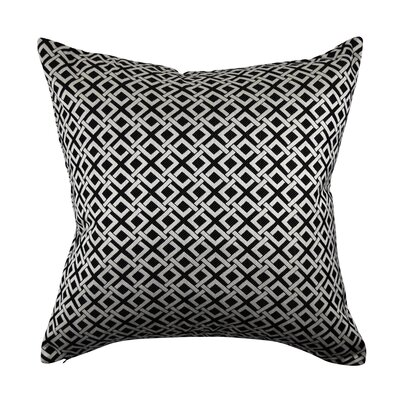 Designer 100% Cotton Throw Pillow Size: 18
