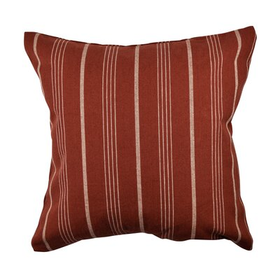 Designer Throw Pillow Size: 18 H x 18 W, Color: White