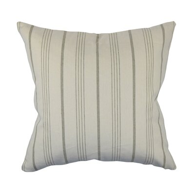 Designer Throw Pillow Size: 18 H x 18 W, Color: Burgundy