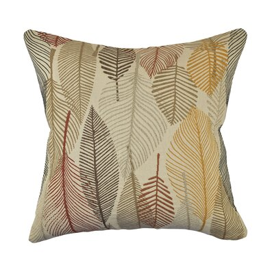 Designer Throw Pillow Size: 20 H x 20 W, Color: Tan