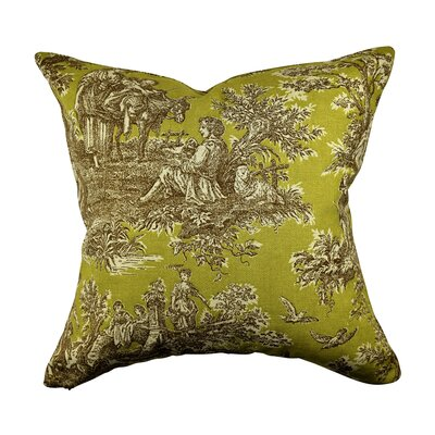 Designer 100% Cotton Throw Pillow Size: 20 H x 20 W