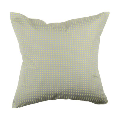Designer 100% Cotton Throw Pillow Size: 18 H x 18 W, Color: Light Gray