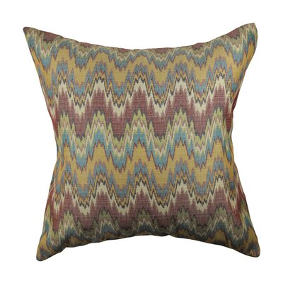 Designer Throw Pillow Size: 18