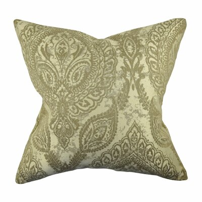 Designer Throw Pillow Size: 18 H x 18 W