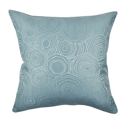 Designer Throw Pillow Size: 18 H x 18 W, Color: Teal