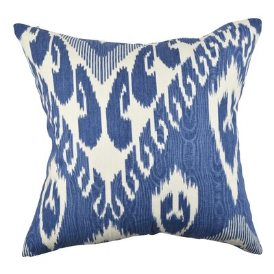 Garrett Pastel Ikat Inspired Throw Pillow Size: 18 H x 18 W x 6 D