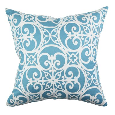 Burruss Jacobean Designer 100% Cotton Throw Pillow Size: 18 H x 18 W x 6 D