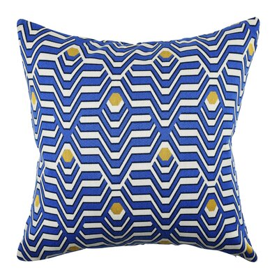 Wovenwood Electric Jacquard Designer Throw Pillow Size: 18 H x 18 W x 6 D