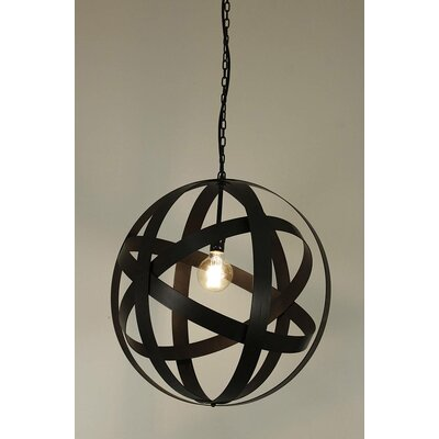 Sphere 1-Light Globe Pendant