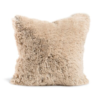 Chateau Throw Pillow Size: 20 x 20, Color: Taupe