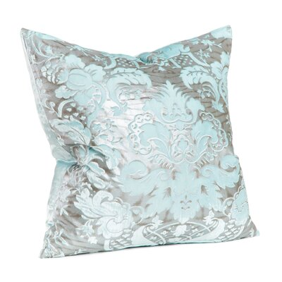 Lorenza Throw Pillow Color: Aquamarine