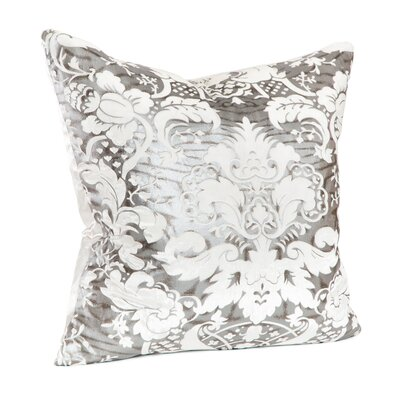 Lorenza Juliette Feather Throw Pillow Color: Winter White