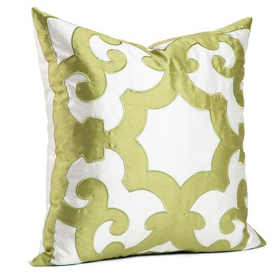 Chateau Throw Pillow Color: Green