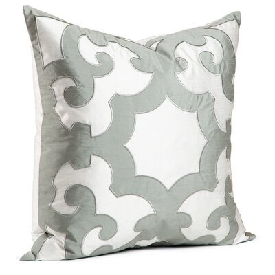 Chateau Bukhara Feather Throw Pillow Color: Sage Grey