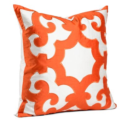 Chateau Throw Pillow Color: Orange