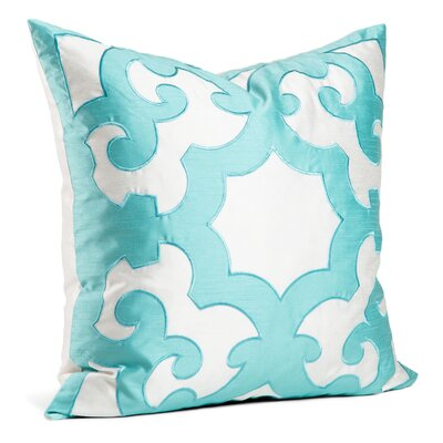 Chateau Throw Pillow Color: Teal