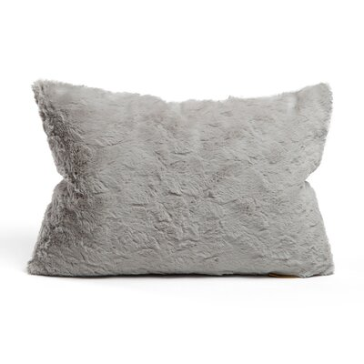 Chateau Lumbar Pillow Color: Gray