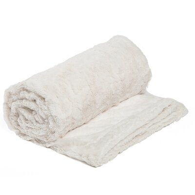 Chateau 3 Piece Blanket Set Color: Ivory