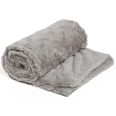 Chateau 3 Piece Blanket Set Color: Gray