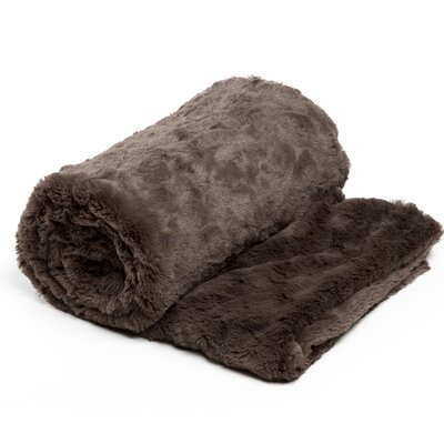 Chateau 3 Piece Blanket Set Color: Mink