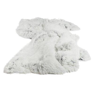 Shag Throw Blanket Set Color: Frost