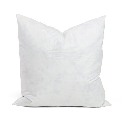95% Feather 5% Down Square Pillow Insert Size: 20 x 20