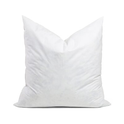 95% Feather 5% Down Square Pillow Insert Size: 27 x 27