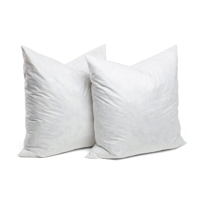 Square Pillow Insert Size: 27