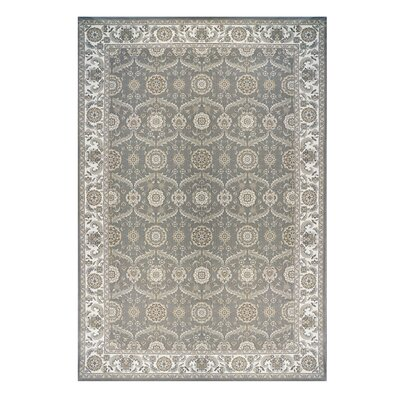 Avenue 33 Majestic Liverpool Gray Area Rug Rug Size: 66 x 96