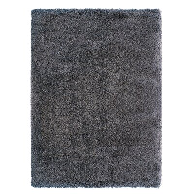 Avenue 33 Manhattan Steel Gray Area Rug Rug Size: 66 x 96
