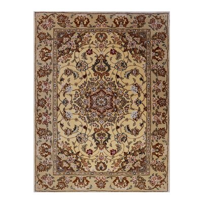 Opulance Hand-Tufted Ivory Area Rug Rug Size: 3 x 46